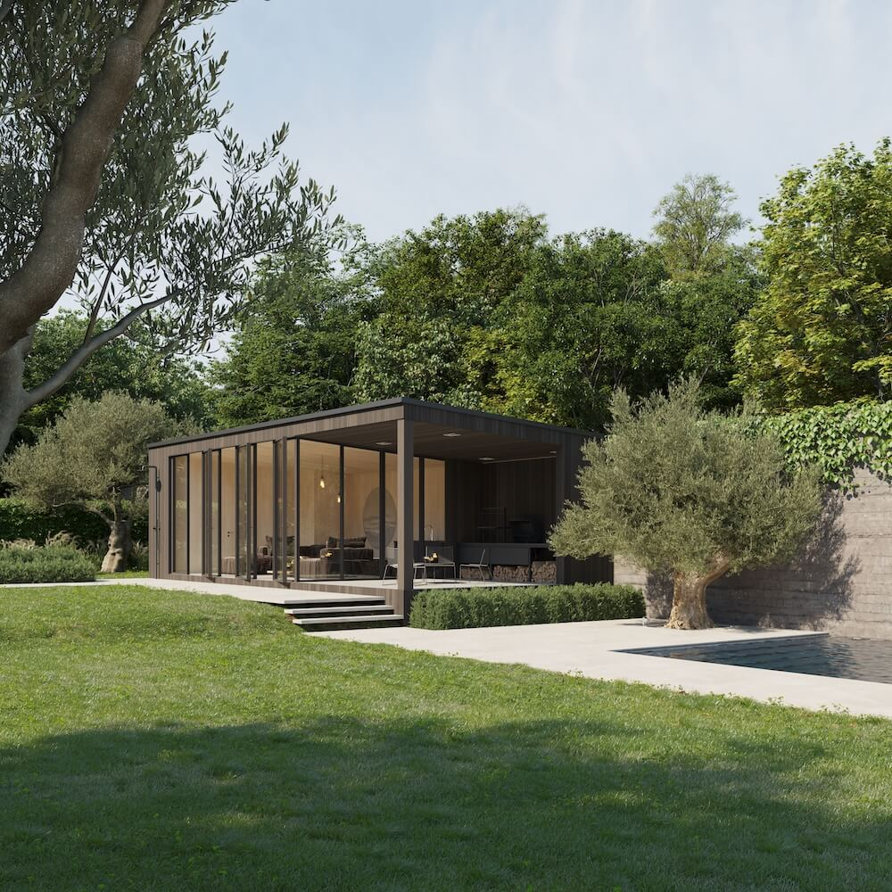Renisol - Caban - Ext poolhouse